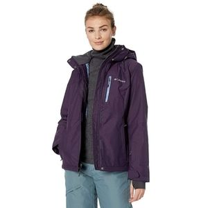 Columbia Women's Alpine Action Dark Purple Jacket